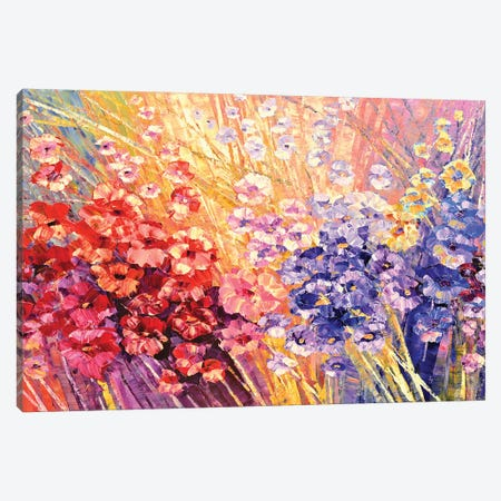 Glorys Bloom Canvas Print #TIA37} by Tatiana Iliina Canvas Wall Art