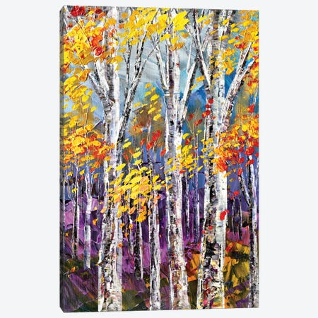 Hint Of Opal Canvas Print #TIA42} by Tatiana Iliina Canvas Artwork