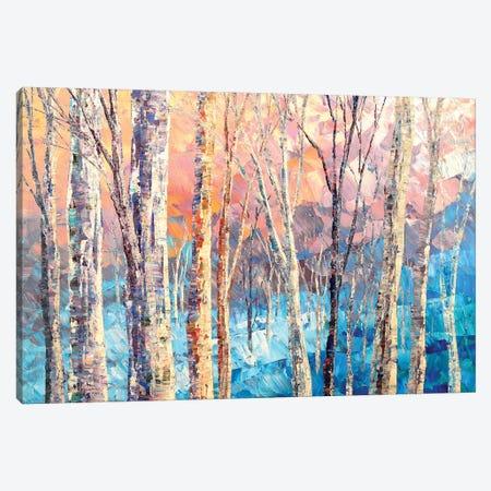 Icy Pearls Canvas Print #TIA45} by Tatiana Iliina Canvas Art Print
