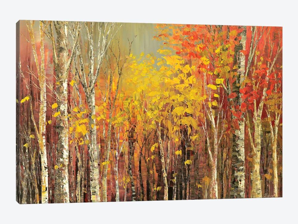 Tangled Colors by Tatiana Iliina 1-piece Canvas Art