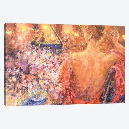 Its About The Piano Player Canvas Print #TIA50} by Tatiana Iliina Canvas Print