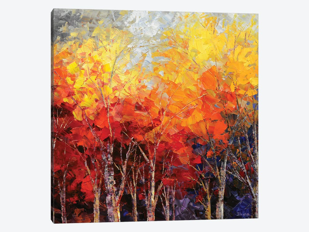 Listening To Leaves by Tatiana Iliina 1-piece Canvas Wall Art