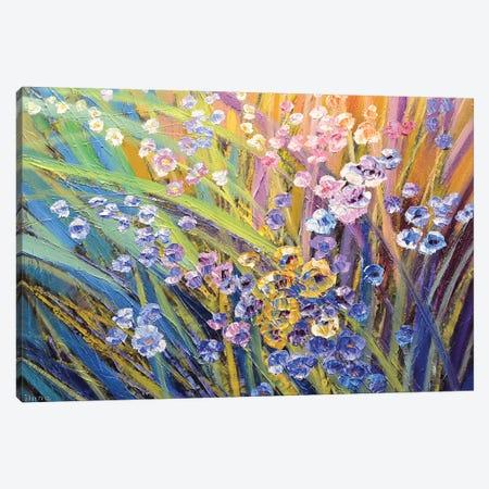 Afternoon On A Hill Canvas Print #TIA5} by Tatiana Iliina Canvas Artwork
