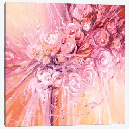 Melancholy Flowers Canvas Print #TIA60} by Tatiana Iliina Canvas Art