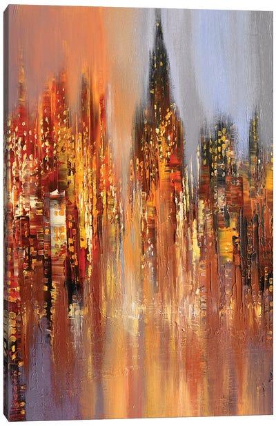 Misty Dawn Canvas Art Print