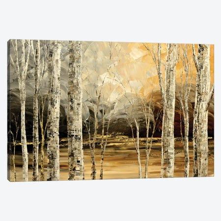 Nightingales Song Canvas Print #TIA67} by Tatiana Iliina Art Print