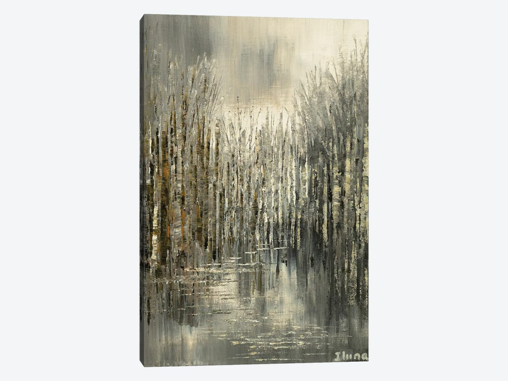 Northern Pewter by Tatiana Iliina 1-piece Canvas Artwork