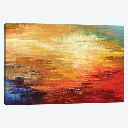 Real Ancient Sun Canvas Print #TIA76} by Tatiana Iliina Canvas Wall Art