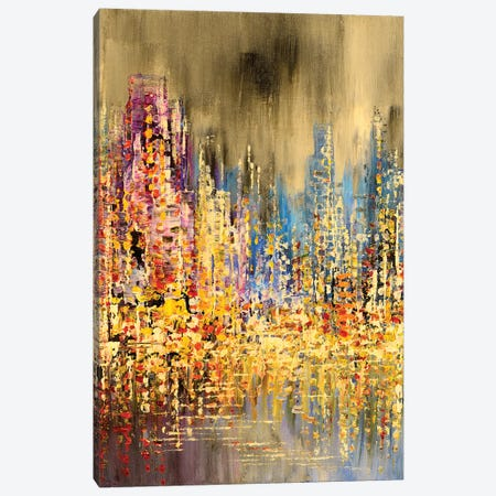 Serene And Shining Canvas Print #TIA80} by Tatiana Iliina Canvas Wall Art
