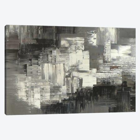 Stone And Snow.Jpg Canvas Print #TIA86} by Tatiana Iliina Canvas Print