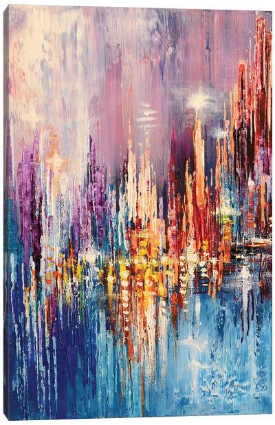 Tower Lights Canvas Art Print