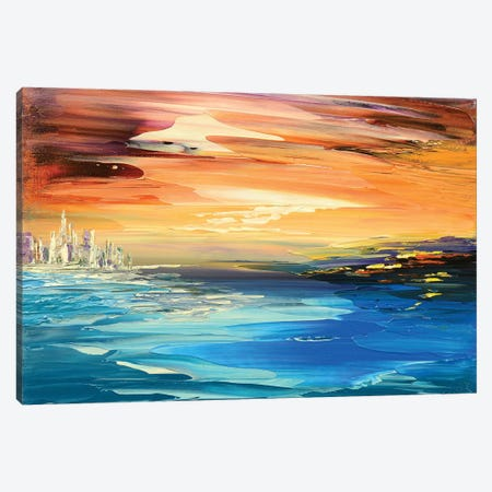 Treasure Island Canvas Print #TIA96} by Tatiana Iliina Canvas Wall Art