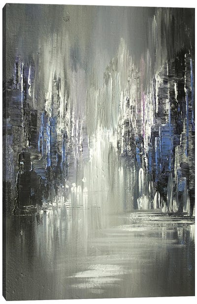 Twilight Shadows Canvas Art Print