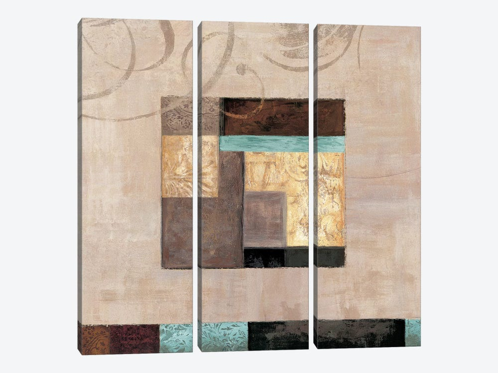 In The Spirit I by Kate Tillman 3-piece Canvas Art