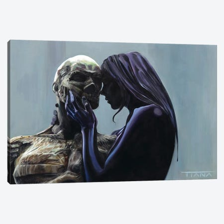 Saudade Canvas Print #TIM19} by TIANA Art Print