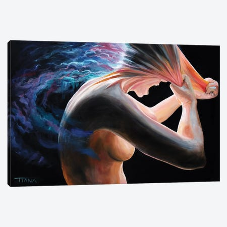 Skin Off Canvas Print #TIM21} by TIANA Canvas Art