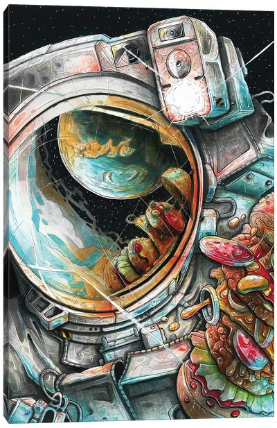 Cosmonaut Canvas Art Print