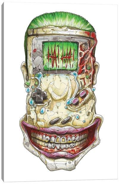 Game Boy Joker Canvas Art Print