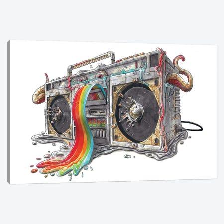 Ghettoblaster Canvas Print #TIV23} by Tino Valentin Art Print