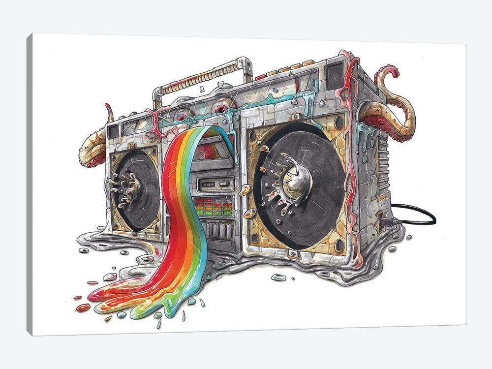 Ghettoblaster by Tino Valentin 1-piece Canvas Print