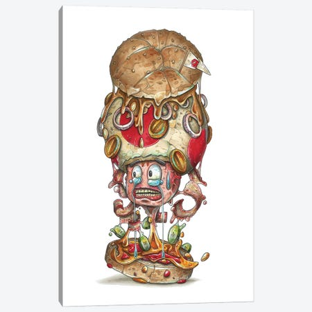 Yoadburger Canvas Print #TIV36} by Tino Valentin Canvas Art Print
