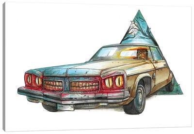 Ash Canvas Art Print