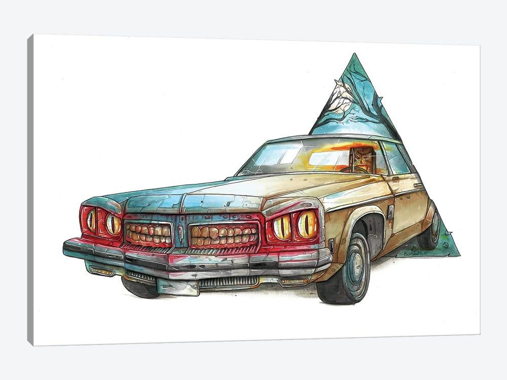 Ash by Tino Valentin 1-piece Canvas Art Print