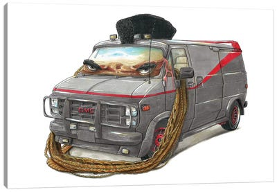 A-Team Truck Canvas Art Print