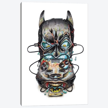 Batman Canvas Print #TIV6} by Tino Valentin Canvas Artwork
