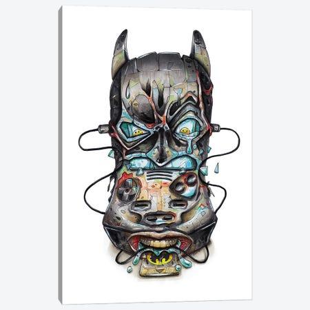 Batman Canvas Print #TIV6} by Tino Valentin Canvas Artwork