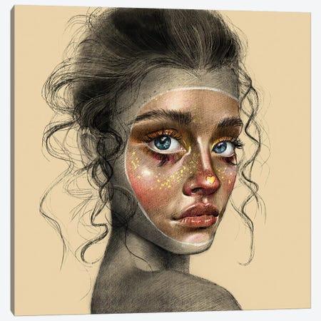 Arlequina Canvas Print #TJE2} by Teodora Jelenic Canvas Wall Art
