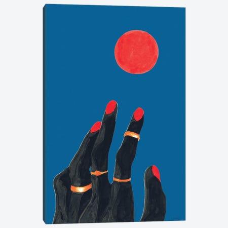 Children Of The Sun Canvas Print #TJG10} by TJ Agbo Art Print