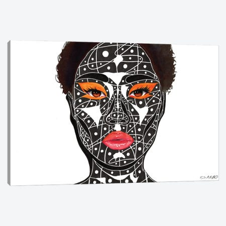 Everything And More Canvas Print #TJG15} by TJ Agbo Canvas Wall Art