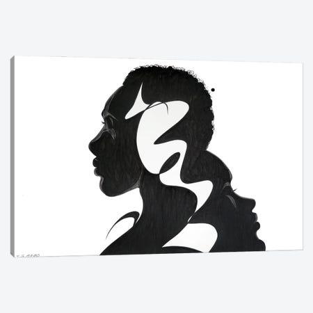 Feels Like Jazz Canvas Print #TJG16} by TJ Agbo Canvas Artwork
