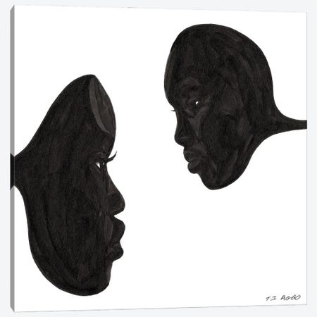 Forbidden Knowledge Canvas Print #TJG18} by TJ Agbo Art Print