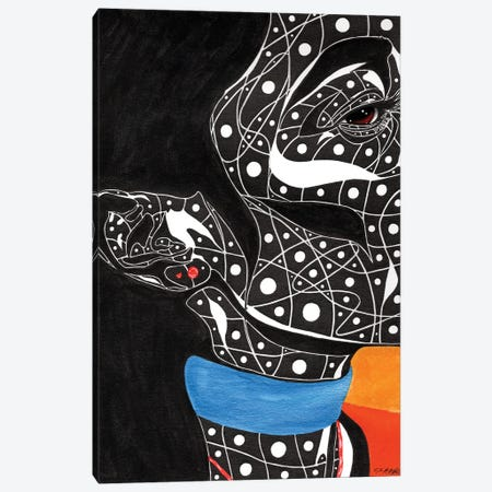 Aleali Canvas Print #TJG1} by TJ Agbo Canvas Artwork