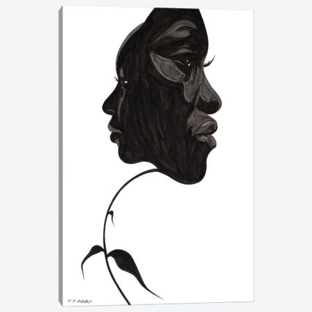 I Almost Forgot About You Canvas Print #TJG20} by TJ Agbo Canvas Wall Art