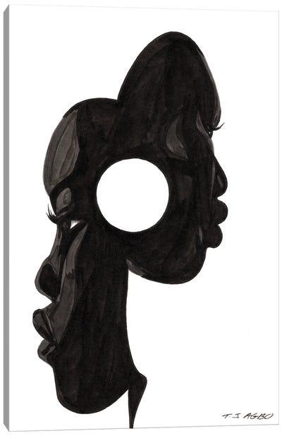 Mask Canvas Art Print