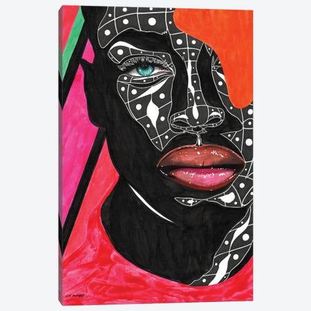 Mosaic Canvas Print #TJG28} by TJ Agbo Canvas Artwork