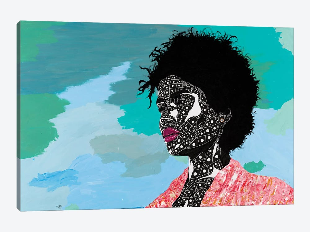 A Vision Of Beauty by TJ Agbo 1-piece Canvas Artwork