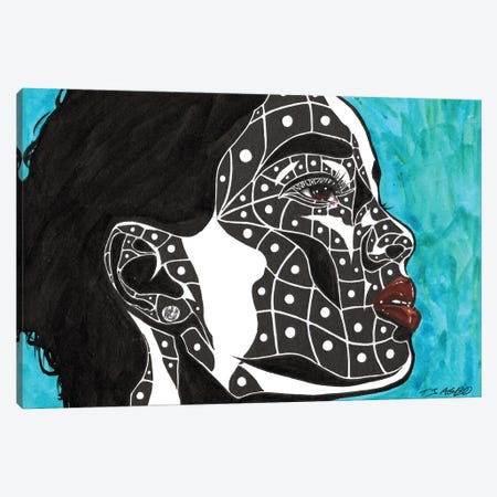 Now Canvas Print #TJG30} by TJ Agbo Canvas Print