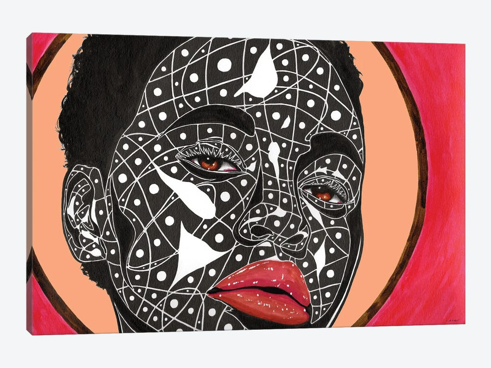 Vogue by TJ Agbo 1-piece Canvas Artwork