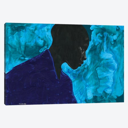 Between The World And Me Canvas Print #TJG45} by TJ Agbo Art Print