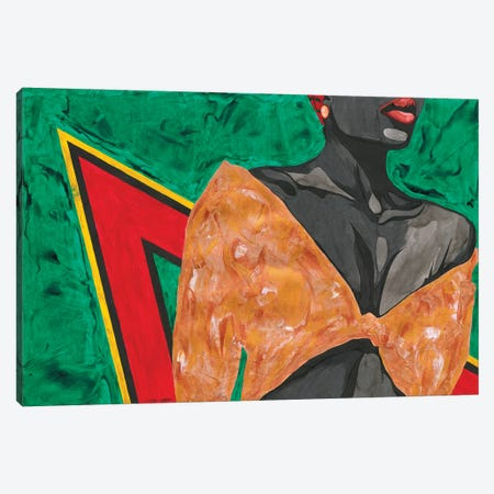 Wild Canvas Print #TJG48} by TJ Agbo Canvas Art