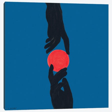Closer Than Ever Canvas Print #TJG7} by TJ Agbo Art Print