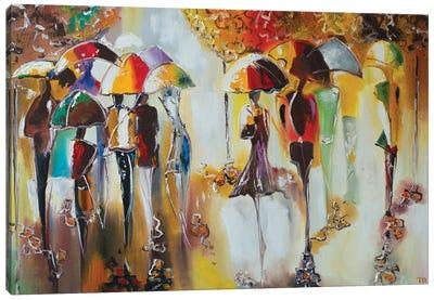 Walks In Paris Canvas Art Print