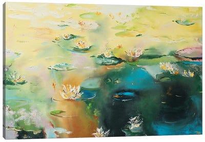 Lily Pond Canvas Art Print