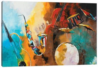 Jazz And Blues Canvas Art Print