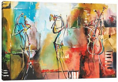 Air Jazz Canvas Art Print