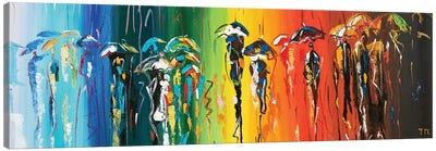 October Rainbows Canvas Art Print